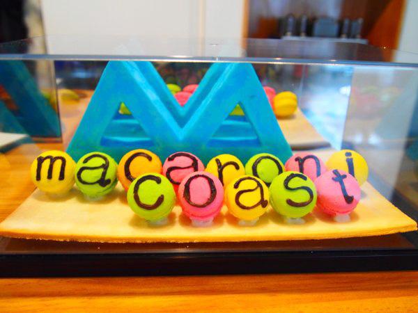 マカロンと砂糖菓子